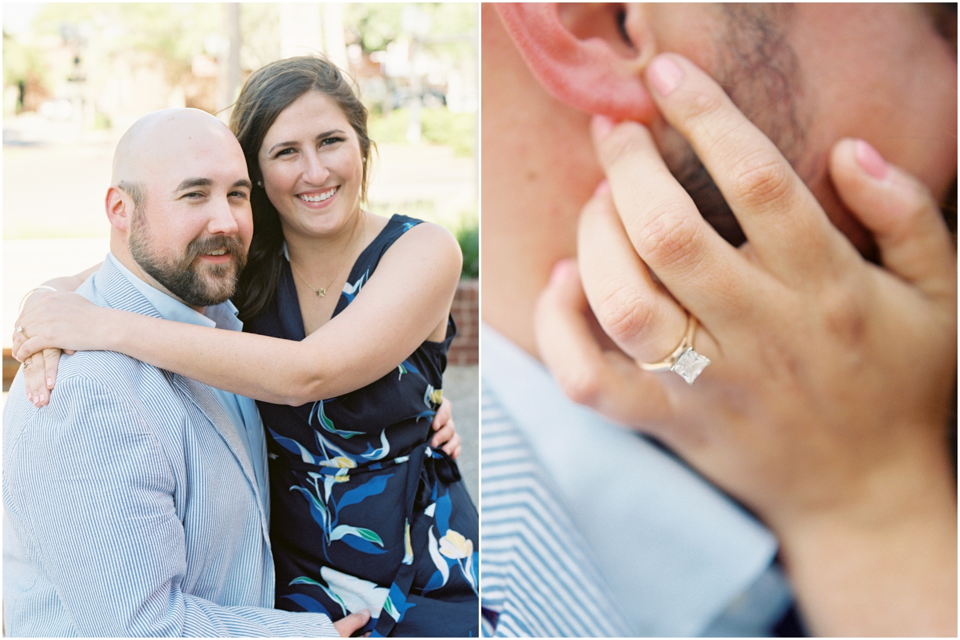 Lisa Silva Photography- Jacksonville, St. Augustine, Amelia Island, Ponte Vedra Beach, North East Florida Fine Art Film Photographer- Engagement Session in Historic Downtown Fernandina Beach- Amelia Island Wedding Photographer_0006.jpg