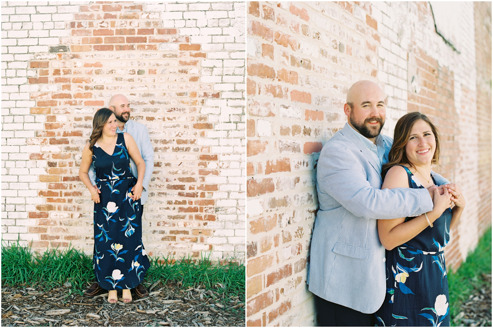 Lisa Silva Photography- Jacksonville, St. Augustine, Amelia Island, Ponte Vedra Beach, North East Florida Fine Art Film Photographer- Engagement Session in Historic Downtown Fernandina Beach- Amelia Island Wedding Photographer_0011.jpg