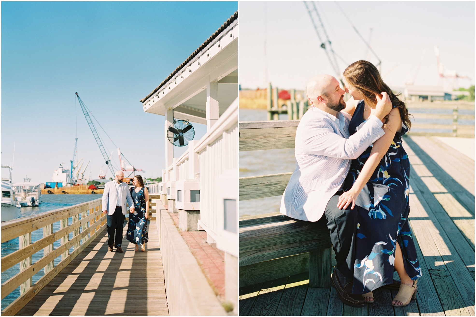 Lisa Silva Photography- Jacksonville, St. Augustine, Amelia Island, Ponte Vedra Beach, North East Florida Fine Art Film Photographer- Engagement Session in Historic Downtown Fernandina Beach- Amelia Island Wedding Photographer_0013.jpg