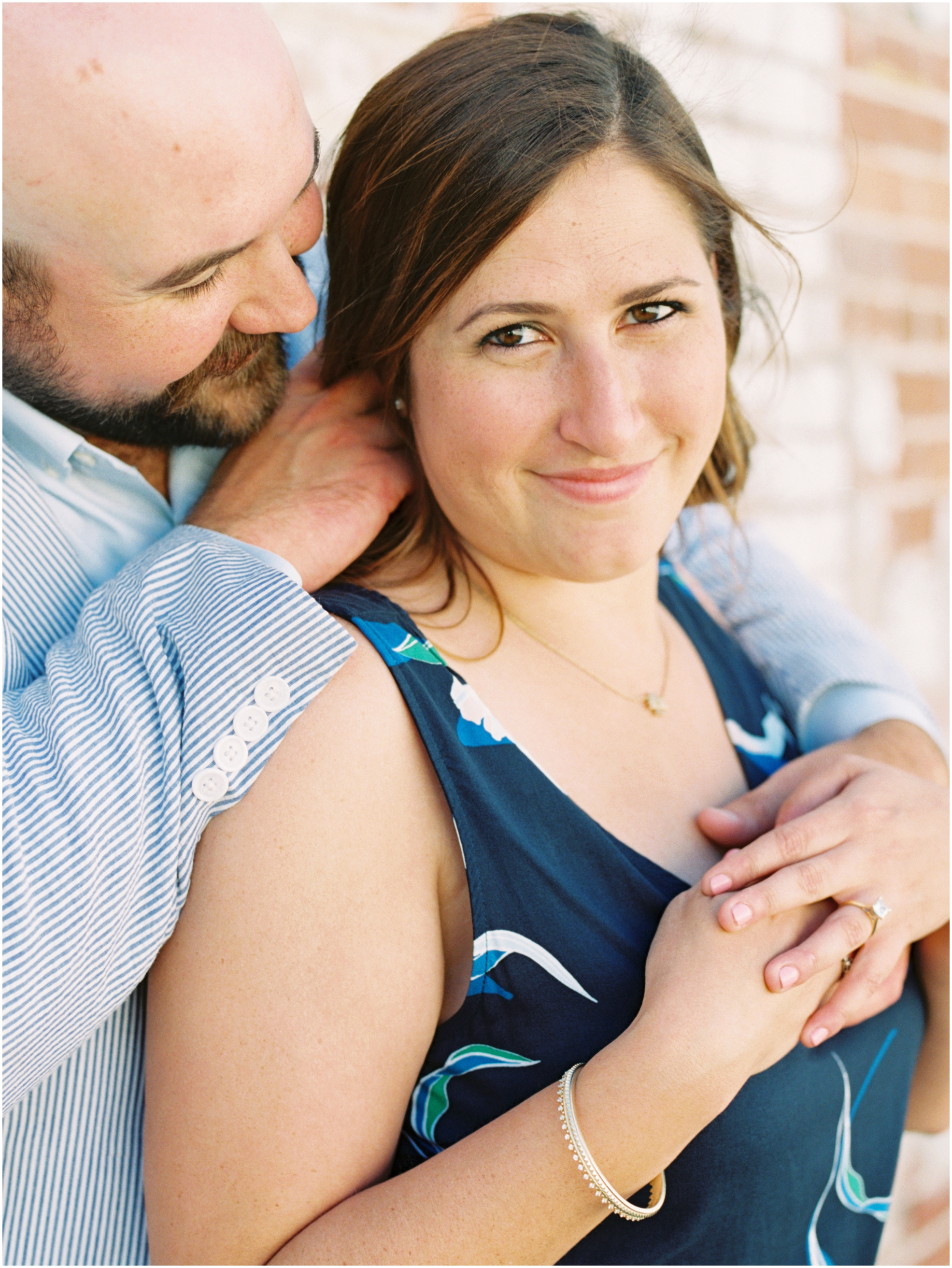 Lisa Silva Photography- Jacksonville, St. Augustine, Amelia Island, Ponte Vedra Beach, North East Florida Fine Art Film Photographer- Engagement Session in Historic Downtown Fernandina Beach- Amelia Island Wedding Photographer_0012.jpg
