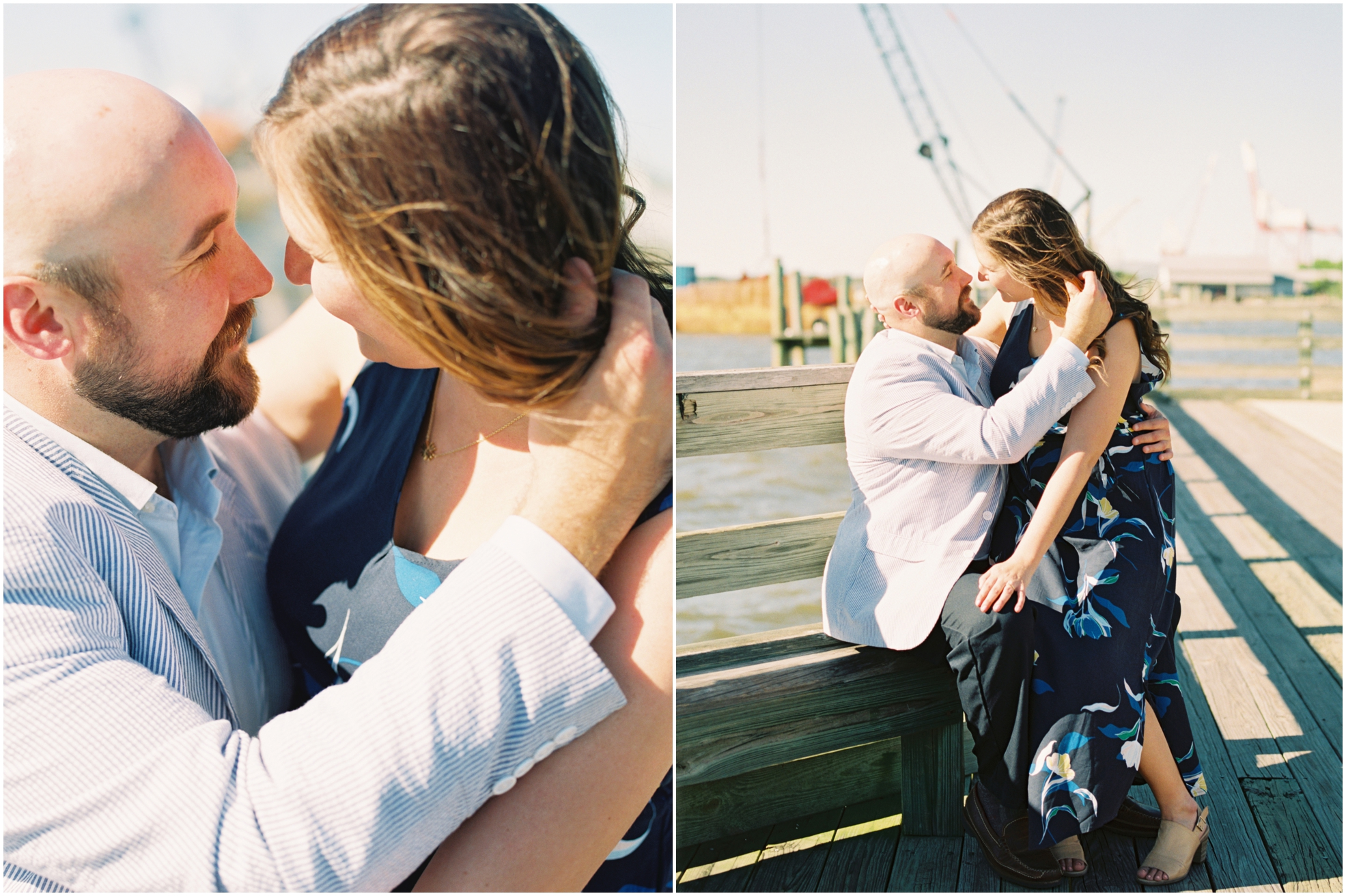 Lisa Silva Photography- Jacksonville, St. Augustine, Amelia Island, Ponte Vedra Beach, North East Florida Fine Art Film Photographer- Engagement Session in Historic Downtown Fernandina Beach- Amelia Island Wedding Photographer_0015.jpg
