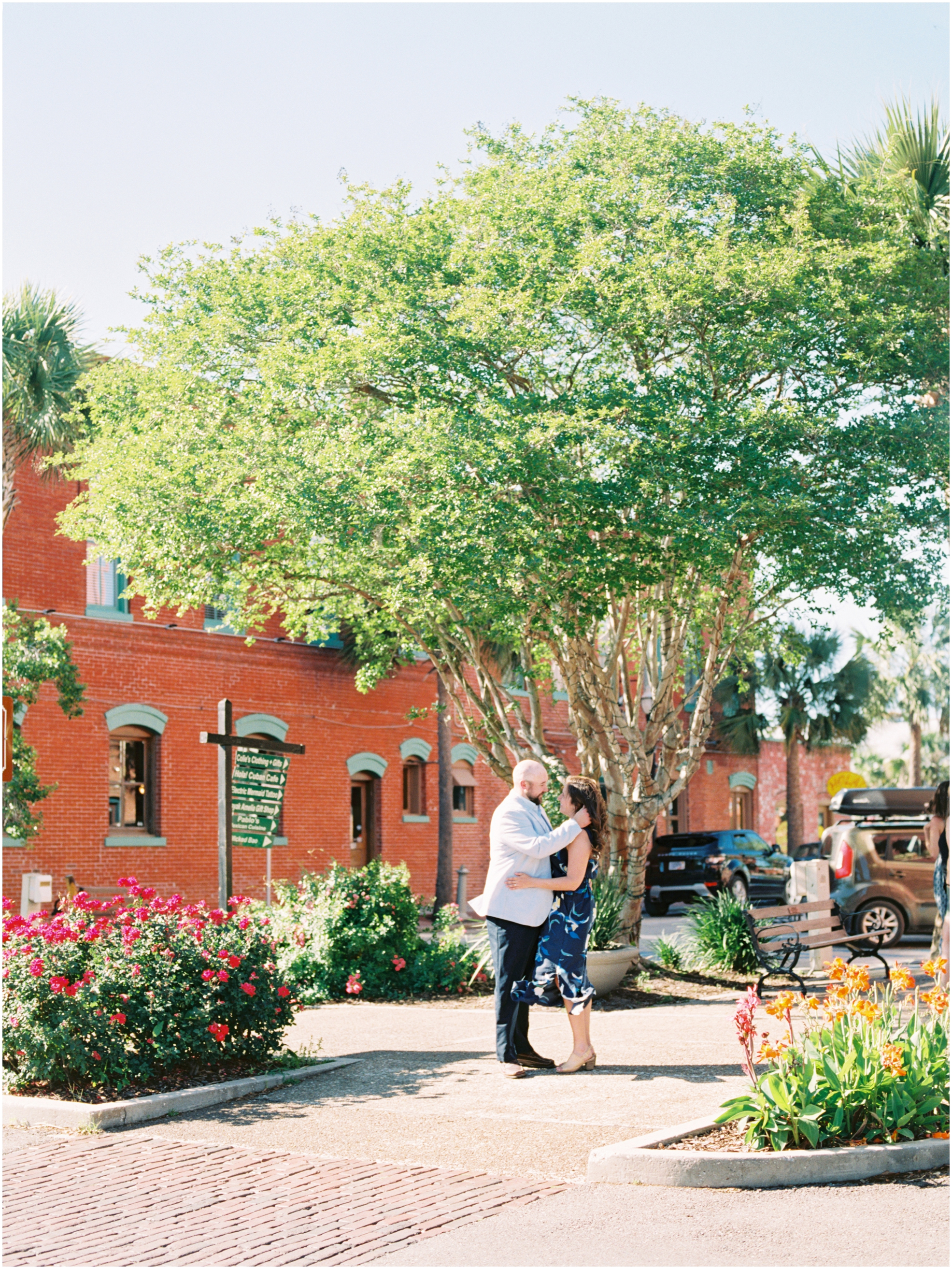 Lisa Silva Photography- Jacksonville, St. Augustine, Amelia Island, Ponte Vedra Beach, North East Florida Fine Art Film Photographer- Engagement Session in Historic Downtown Fernandina Beach- Amelia Island Wedding Photographer_0017.jpg