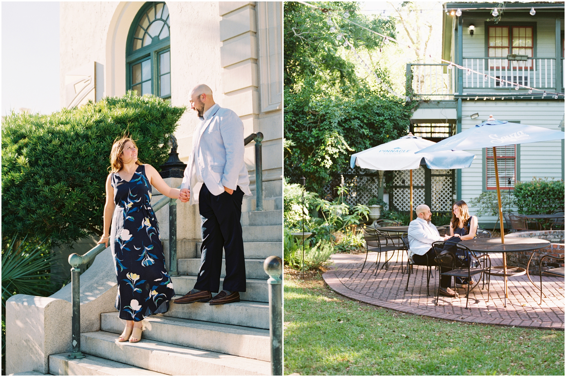 Lisa Silva Photography- Jacksonville, St. Augustine, Amelia Island, Ponte Vedra Beach, North East Florida Fine Art Film Photographer- Engagement Session in Historic Downtown Fernandina Beach- Amelia Island Wedding Photographer_0020.jpg