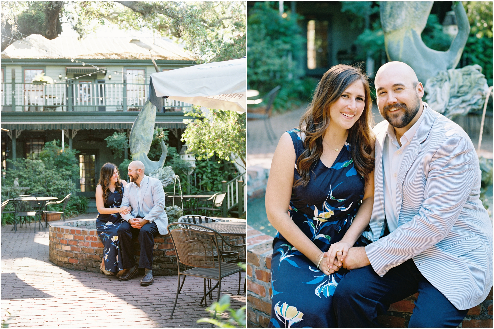 Lisa Silva Photography- Jacksonville, St. Augustine, Amelia Island, Ponte Vedra Beach, North East Florida Fine Art Film Photographer- Engagement Session in Historic Downtown Fernandina Beach- Amelia Island Wedding Photographer_0022.jpg