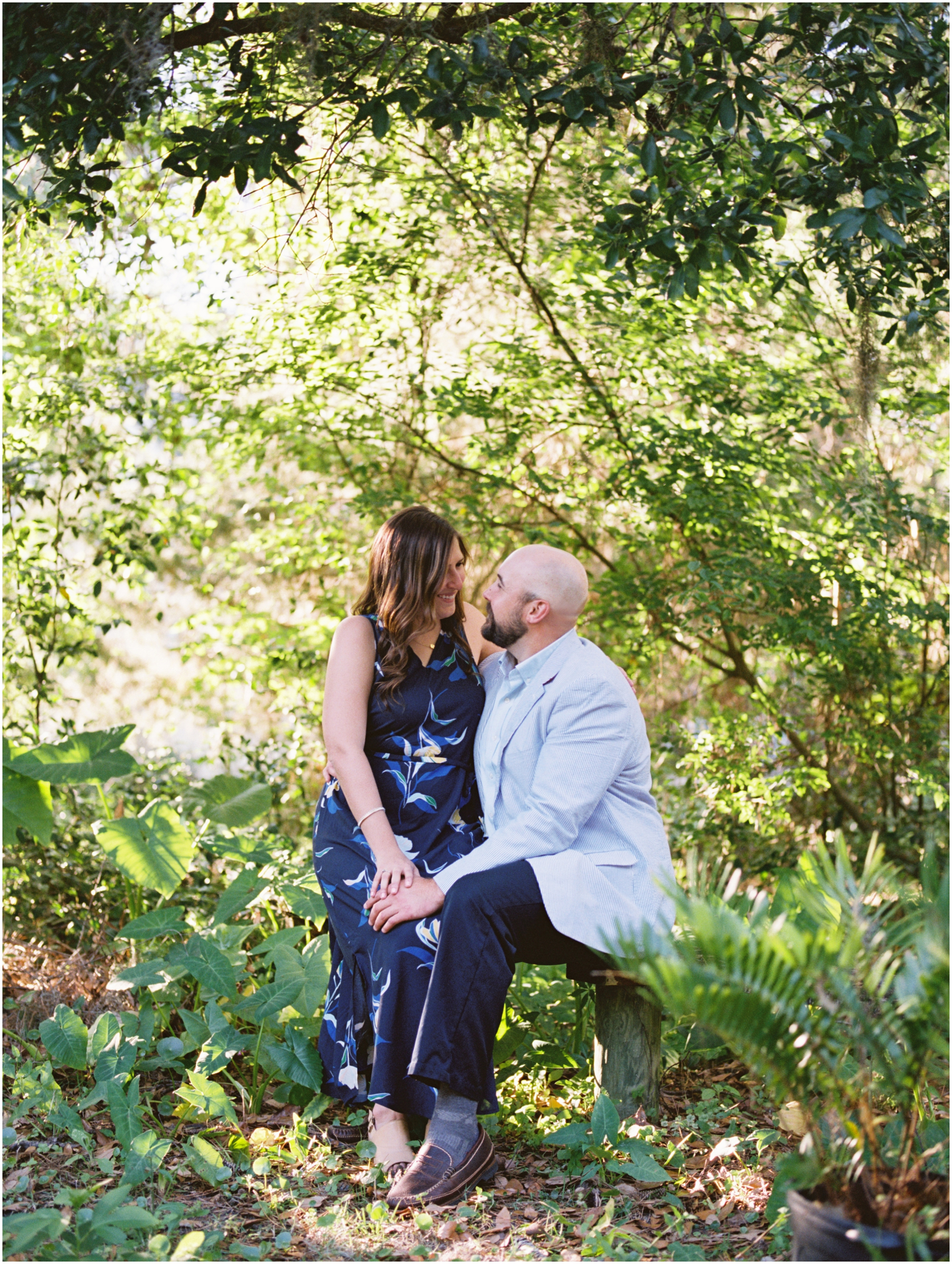 Lisa Silva Photography- Jacksonville, St. Augustine, Amelia Island, Ponte Vedra Beach, North East Florida Fine Art Film Photographer- Engagement Session in Historic Downtown Fernandina Beach- Amelia Island Wedding Photographer_0026.jpg