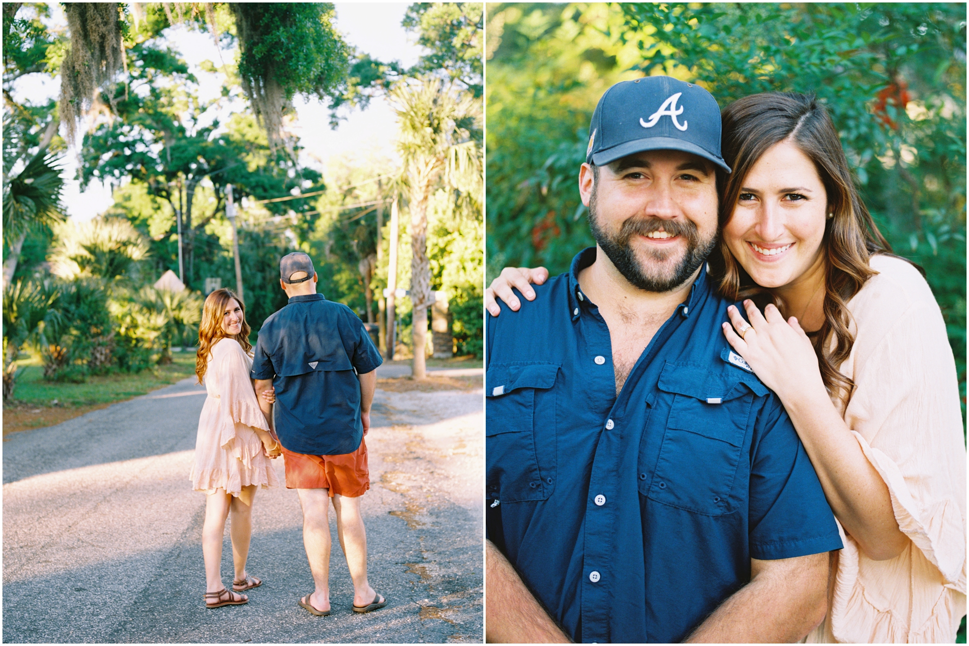 Lisa Silva Photography- Jacksonville, St. Augustine, Amelia Island, Ponte Vedra Beach, North East Florida Fine Art Film Photographer- Engagement Session in Historic Downtown Fernandina Beach- Amelia Island Wedding Photographer_0050.jpg