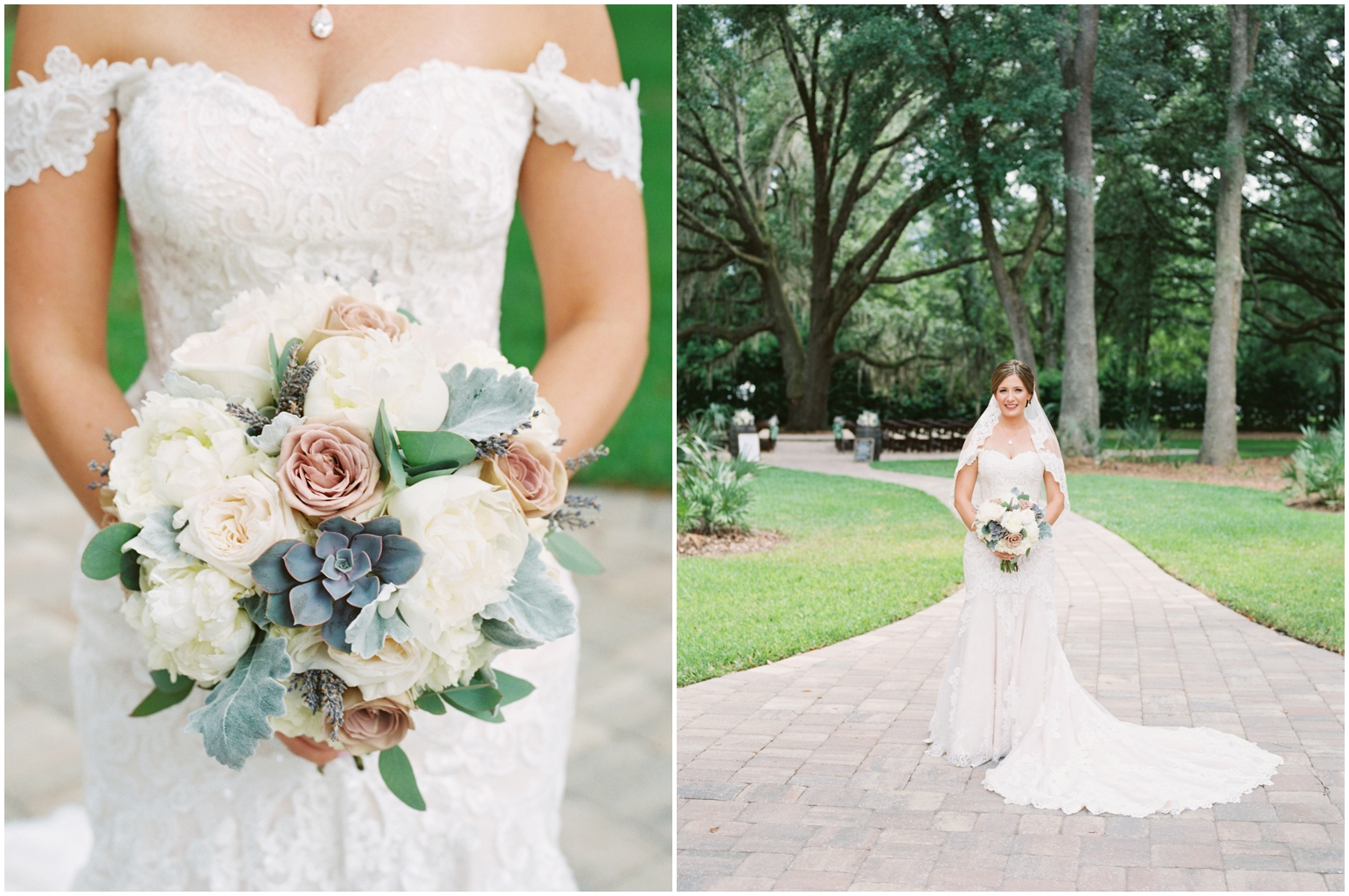 Lisa Silva Photography- Jacksonville, St Augustine, Fernandina Beach, Amelia Island, Ponte Vedra Beach, North East Florida Fine Art Film Photographer- Ashley and Shawn's wedding at bowing oaks plantation_0025.jpg