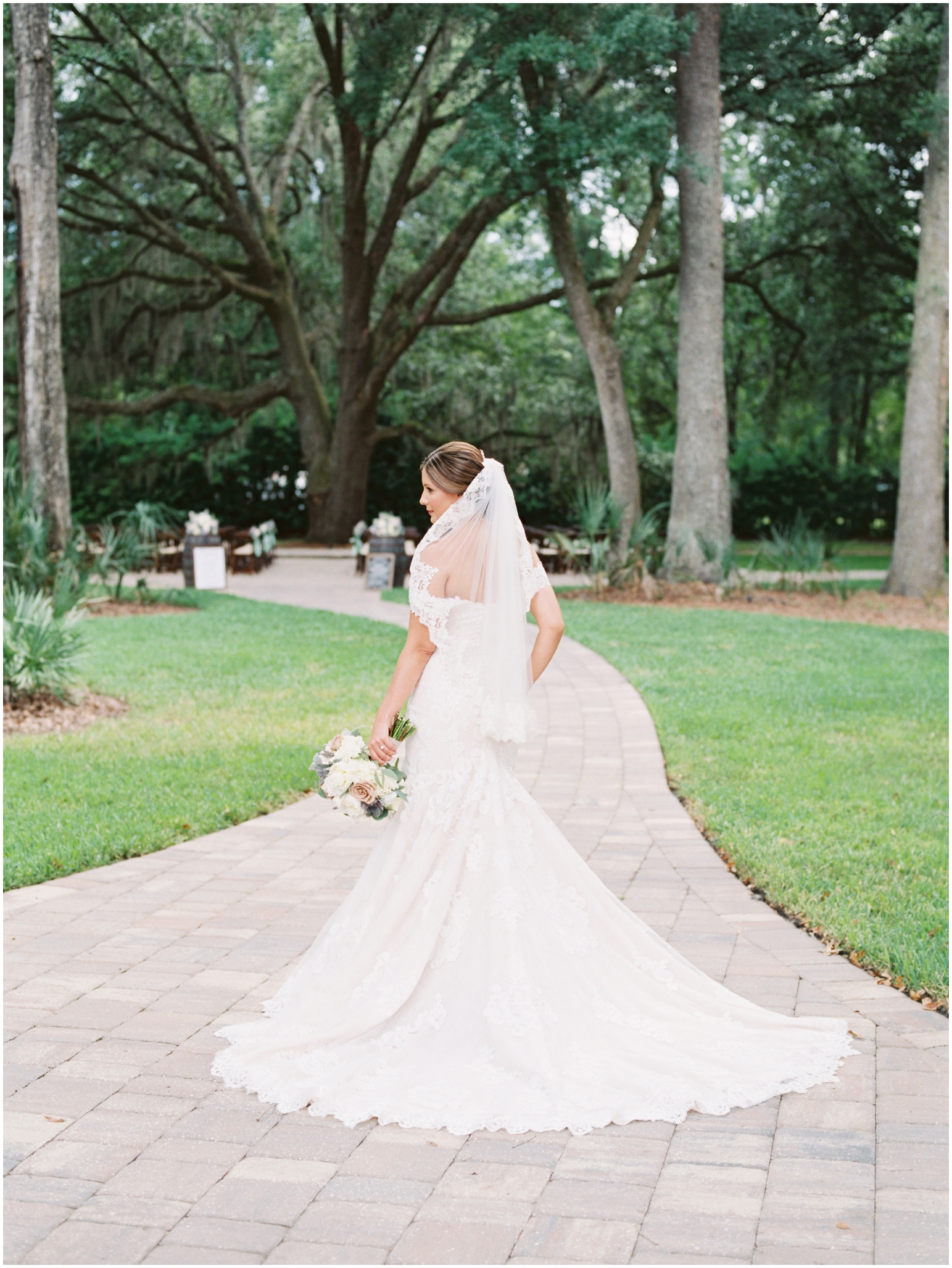Lisa Silva Photography- Jacksonville, St Augustine, Fernandina Beach, Amelia Island, Ponte Vedra Beach, North East Florida Fine Art Film Photographer- Ashley and Shawn's wedding at bowing oaks plantation_0024.jpg