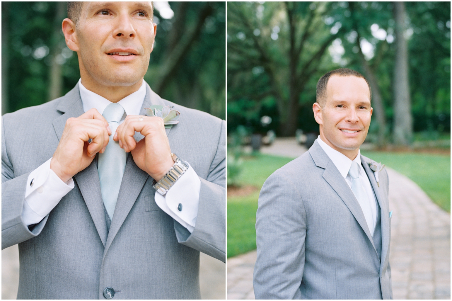 Lisa Silva Photography- Jacksonville, St Augustine, Fernandina Beach, Amelia Island, Ponte Vedra Beach, North East Florida Fine Art Film Photographer- Ashley and Shawn's wedding at bowing oaks plantation_0045.jpg