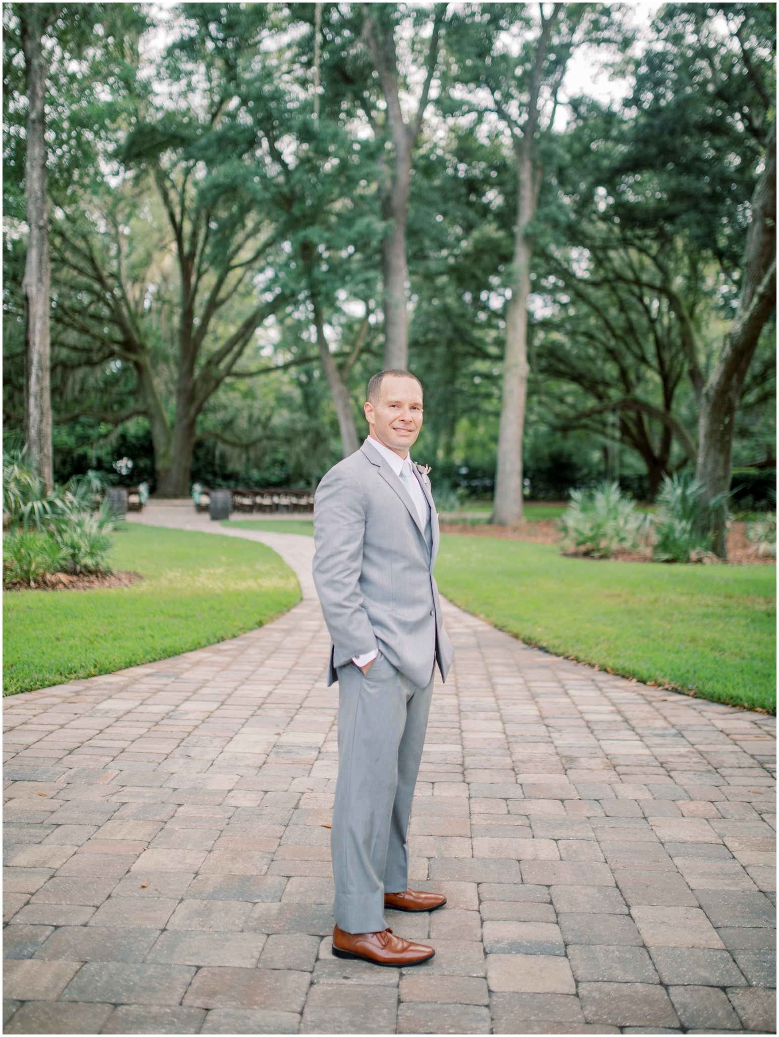 Lisa Silva Photography- Jacksonville, St Augustine, Fernandina Beach, Amelia Island, Ponte Vedra Beach, North East Florida Fine Art Film Photographer- Ashley and Shawn's wedding at bowing oaks plantation_0044.jpg
