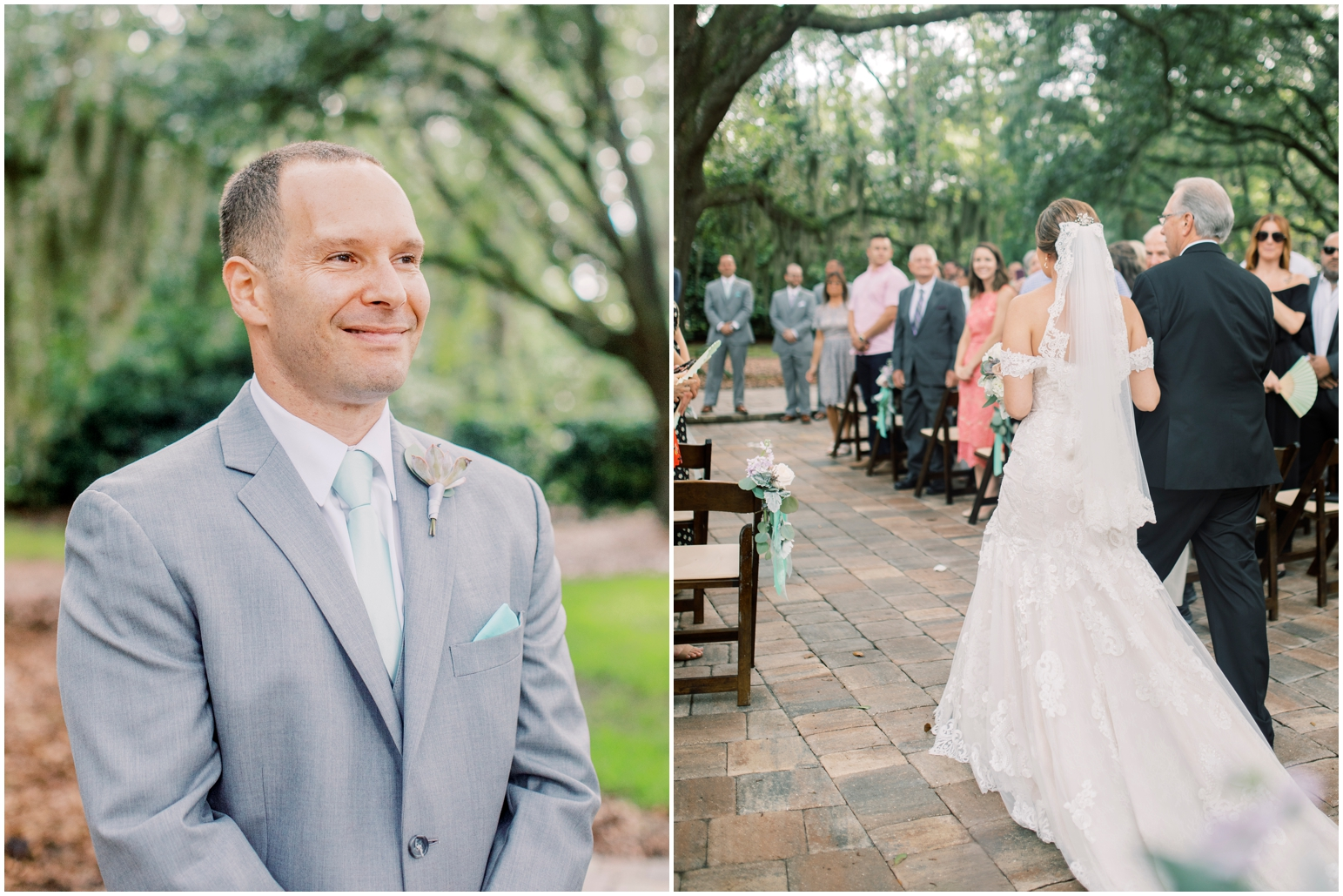 Lisa Silva Photography- Jacksonville, St Augustine, Fernandina Beach, Amelia Island, Ponte Vedra Beach, North East Florida Fine Art Film Photographer- Ashley and Shawn's wedding at bowing oaks plantation_0060.jpg