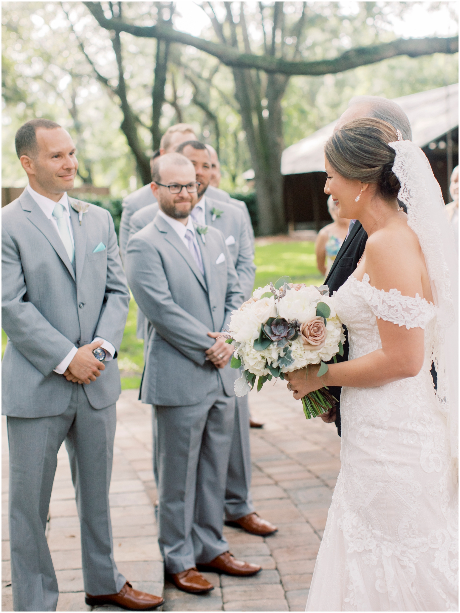 Lisa Silva Photography- Jacksonville, St Augustine, Fernandina Beach, Amelia Island, Ponte Vedra Beach, North East Florida Fine Art Film Photographer- Ashley and Shawn's wedding at bowing oaks plantation_0061.jpg