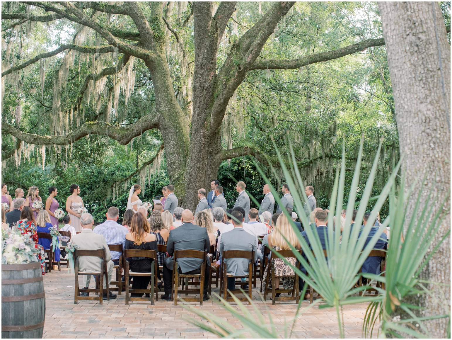 Lisa Silva Photography- Jacksonville, St Augustine, Fernandina Beach, Amelia Island, Ponte Vedra Beach, North East Florida Fine Art Film Photographer- Ashley and Shawn's wedding at bowing oaks plantation_0065.jpg