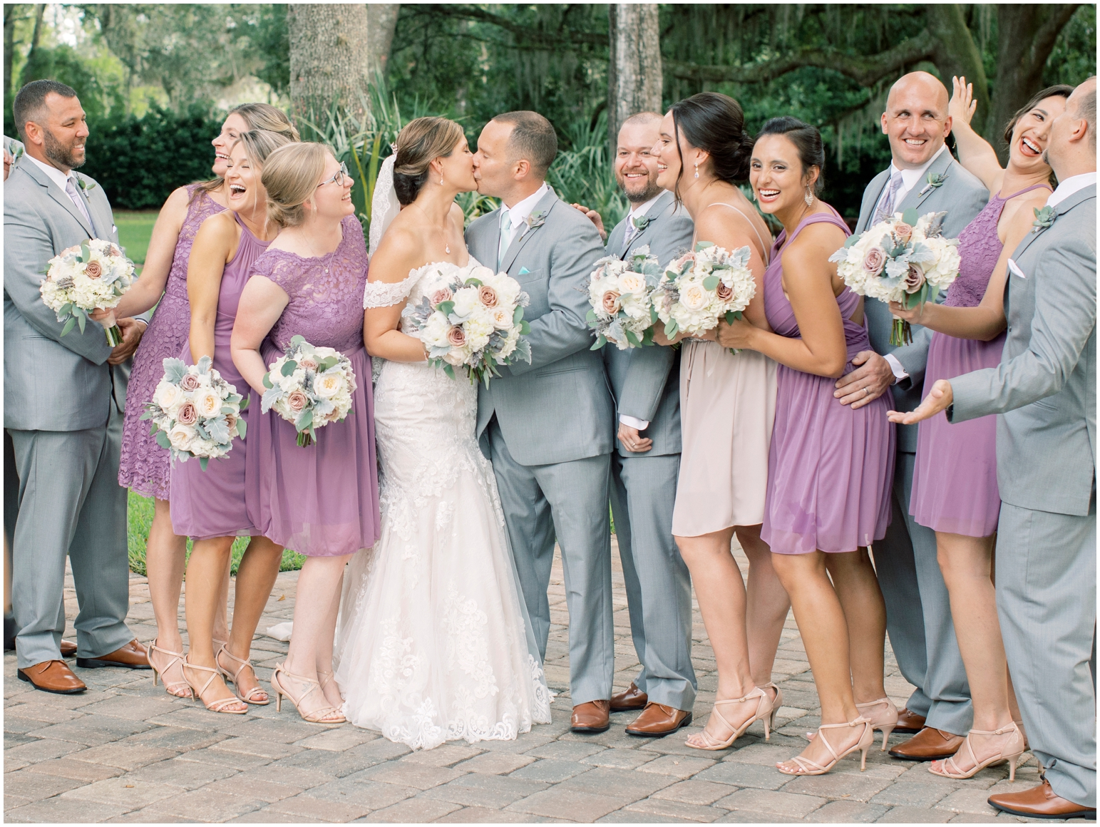 Lisa Silva Photography- Jacksonville, St Augustine, Fernandina Beach, Amelia Island, Ponte Vedra Beach, North East Florida Fine Art Film Photographer- Ashley and Shawn's wedding at bowing oaks plantation_0075.jpg