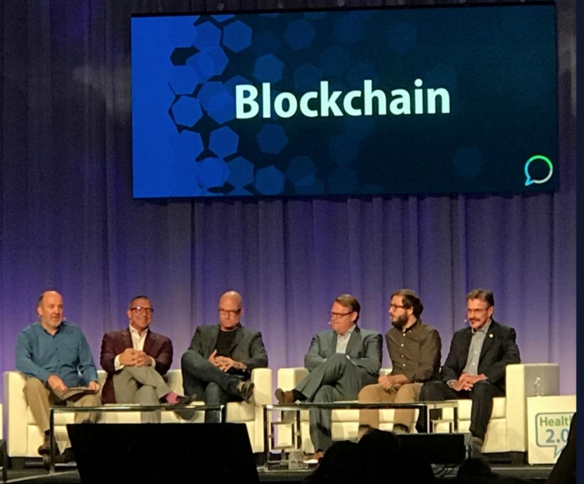 Jack Lewin at Health 2.0 Fall 2017 Blockchain Panel