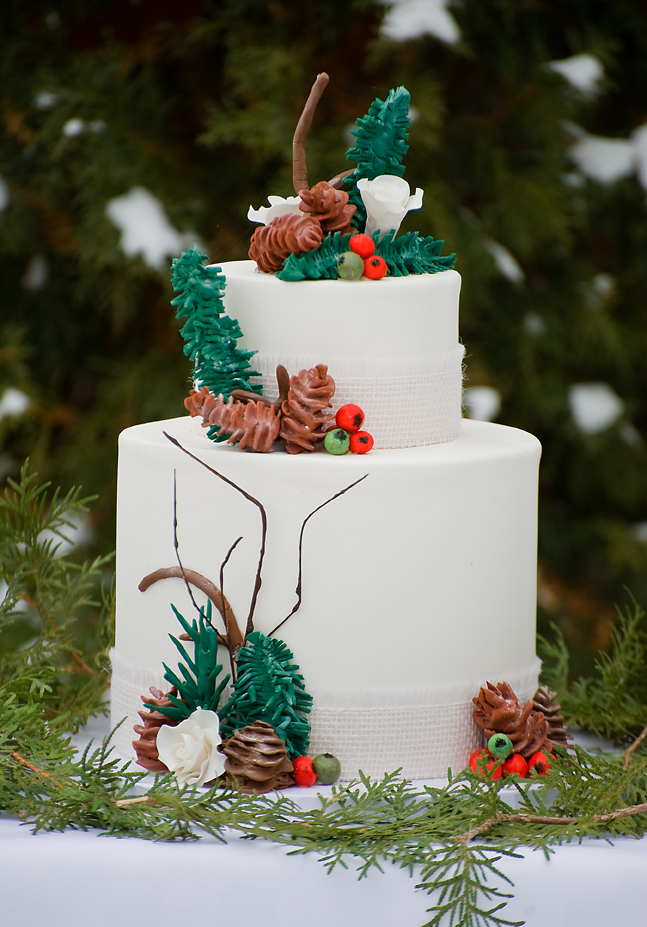 Winter Tree Cake