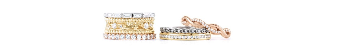 Multiple Diamond Stacking Rings