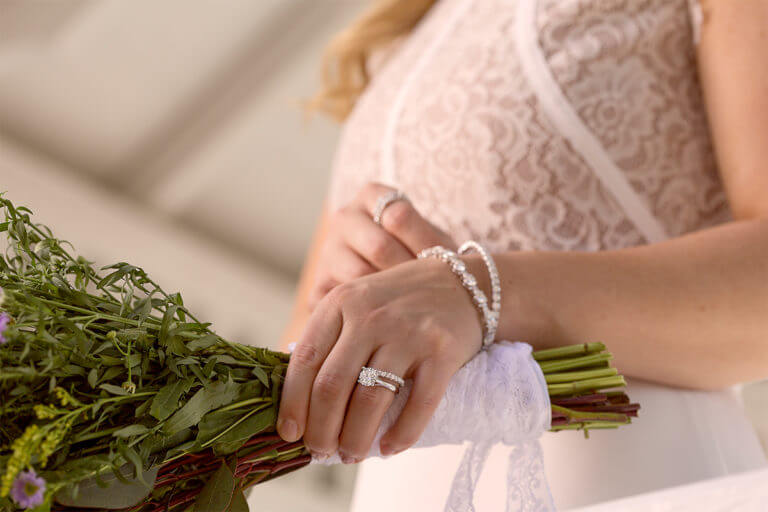 eco-friendly and sustainable, Moissanite for brides.