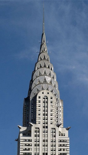The Chrysler Building - Carol M. Highsmith's America, Library of Congress, Prints and Photographs Division.
