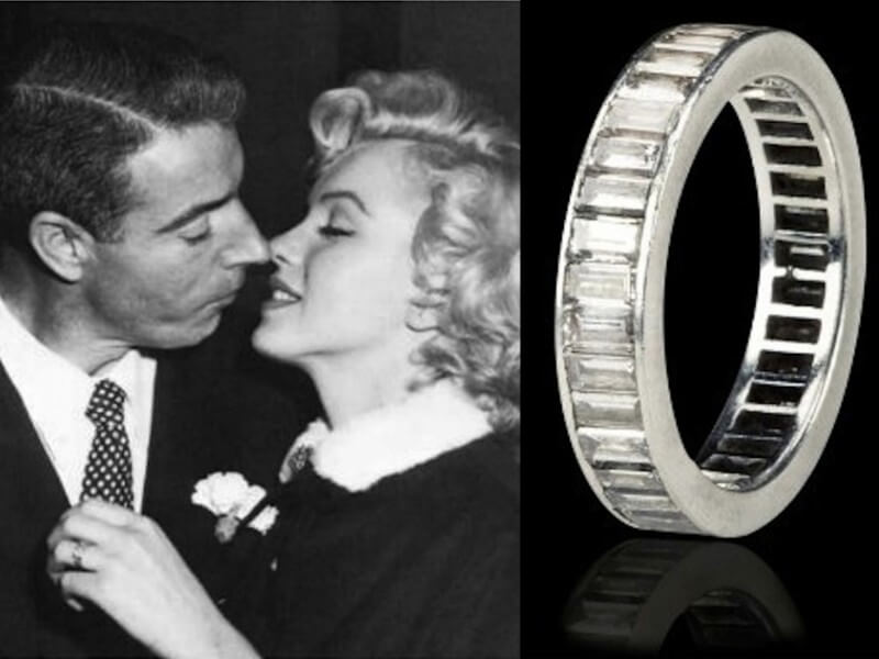 Marilyn Monroe's Diamond Wedding Band