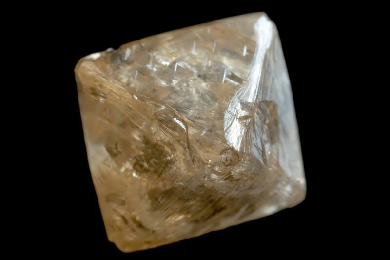 Rough Diamond Octahedron