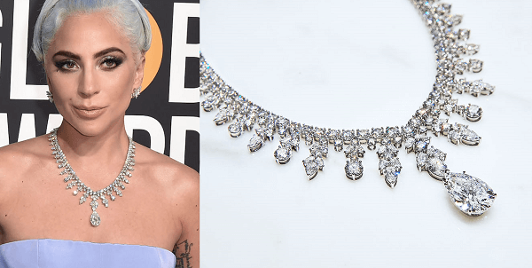 Lady Gaga in custom Tiffany & Co.