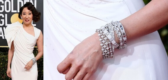 Sanrda Oh diamond bangles