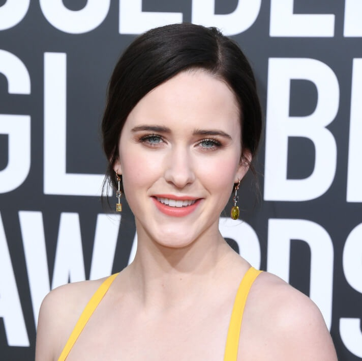 Rachael Brosnahan mismatch earrings