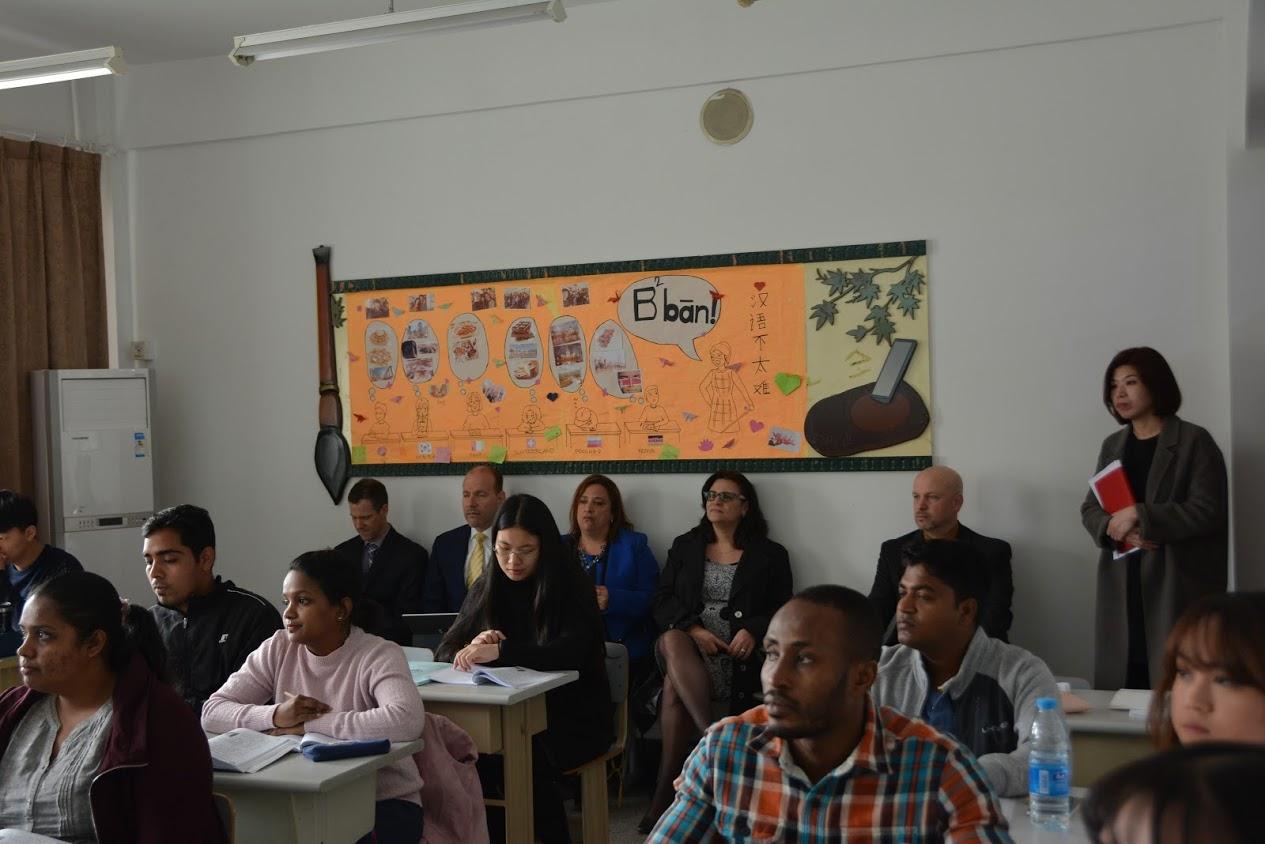 Observing at Shenyang Normal University