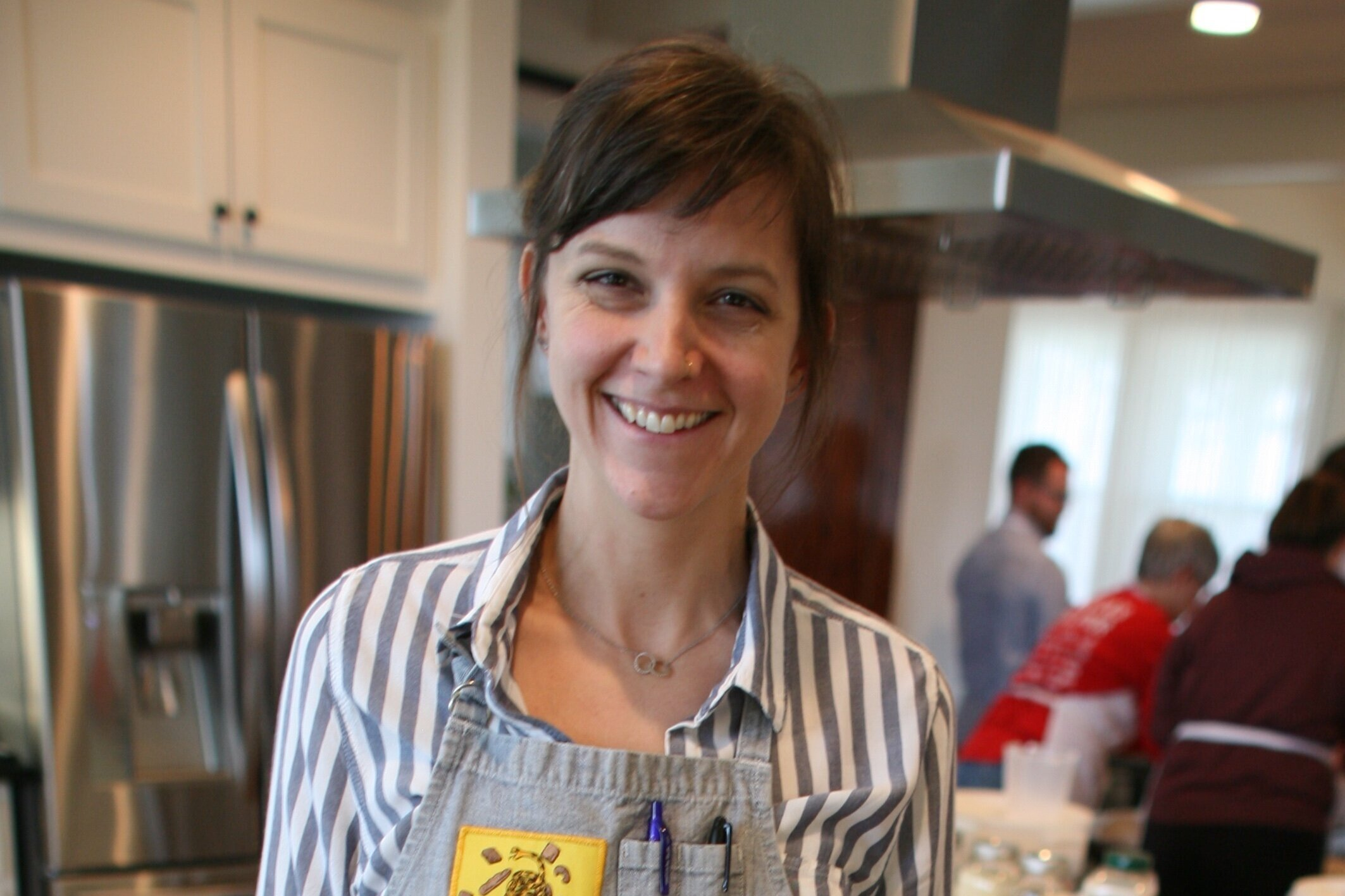 Abby Jane Love    Through her company L'Oven, Abby Love bakes whole grain breads and pastries from fresh milled flours, teaches baking classes, and is planning the opening of her Dripping Springs bakery in late 2019. Abby started her career in bakeries but quickly shifted to restaurant work. After a decade of moving around the country, she settled in Austin to become the pastry chef at Dai Due Butcher Shop and Supper Club from 2014-2017. At that time she shifted her focus back to her roots in artisan bread and L'Oven was born.