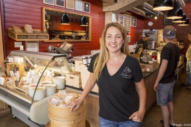 Kendall Antonelli    Kendall is co-owner/founder and President of Antonelli's Cheese Shop, an award-winning cut-to-order cheese and pairings shop that represents hundreds of artisanal producers and has earned distinctions of Best Cheese Shops in America and Local Heroes among others. The mission-driven shop to #DoGoodEatGood includes robust wholesale and events programs as well. Kendall has been named a Profile in Power by the Austin Business Journal and a Blazing Star by the Women's Chamber of Texas. She serves on multiple boards, is a published author, and enjoys speaking on topics of entrepreneurship, as seen in her recent TedX talk. Her life is made sweeter alongside partner John, spirited kids Everett and Elia, and adopted dogs Lucky Day and Luna Loca.