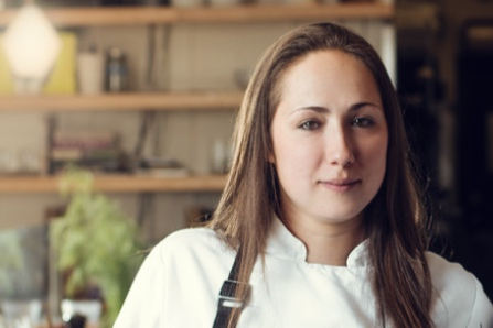 Sarah Heard    Sarah has a strong passion for food, starting with the dirt where the food was cultivated. She began cooking in Austin 13 years ago & has held positions at The Mansion at Judges Hill, Parkside Projects, & La Condesa. She believes that integrity & respect for all parts of the process that bring food to your plate are essential to a good meal & to the guest experience. In 2017 Sarah & partner, Nathan Lemley, purchased Foreign & Domestic, Austin from founder Ned Elliott. The two are now focused on bold, cohesive flavors, adventurous wine, & pure hospitality.