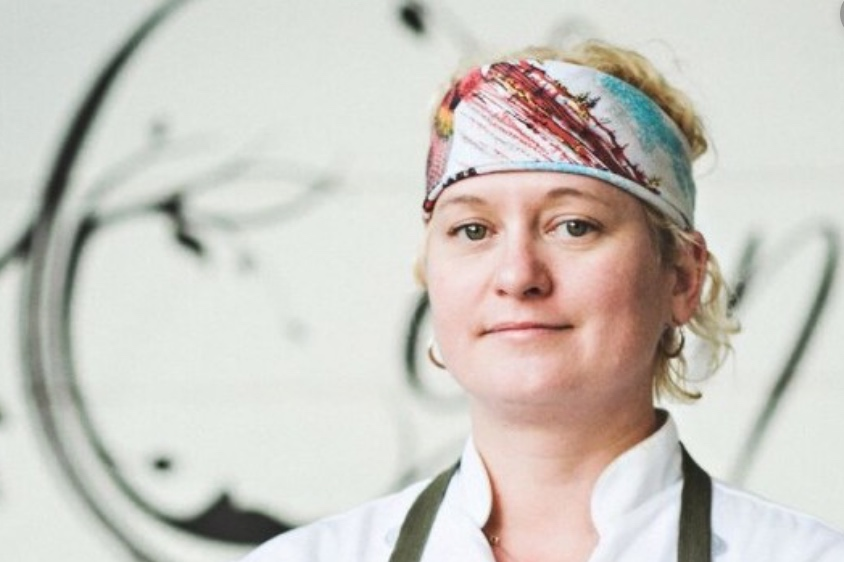 """Sonya Cote    Sonya Coté, owner and executive chef of Eden East, perceives cooking as much more than just putting food on a plate. She views her professional career as creating """"edible pieces of art."""" Coté recognizes the importance of using locally-grown ingredients for both nutritional and environmental purposes. Coté has received numerous accolades, including recognition as one of Marie Claire's """"Women on Top."""" In 2013, she competed on Food Network's """"Chopped"""" before opening the farm-to-table restaurant, Eden East, one of Austin Monthly's """"Best New Restaurants."""" Soon after, Coté was named one of Tribeza's """"People of the Year."""""""