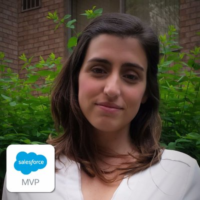 Elena Inurrategui -  Twitter:   Salesforce MVP, Co-founder the La Clé, Non profit lover, semi-nomad and mom. Trabajando para acercar Salesforce a las organizaciones en Latinoamerica.