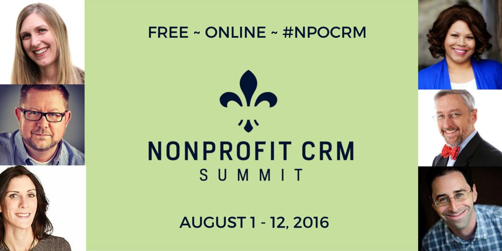 Nonprofit CRM Summit - speakers
