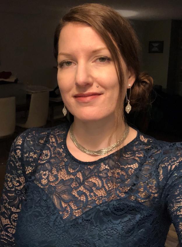 I enjoy dressing up again!