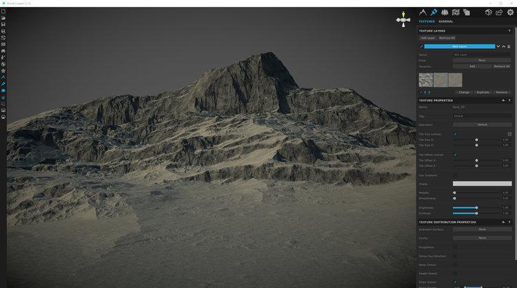 Mounting Tension - Cinema 4D Landscape - Eddy Adams