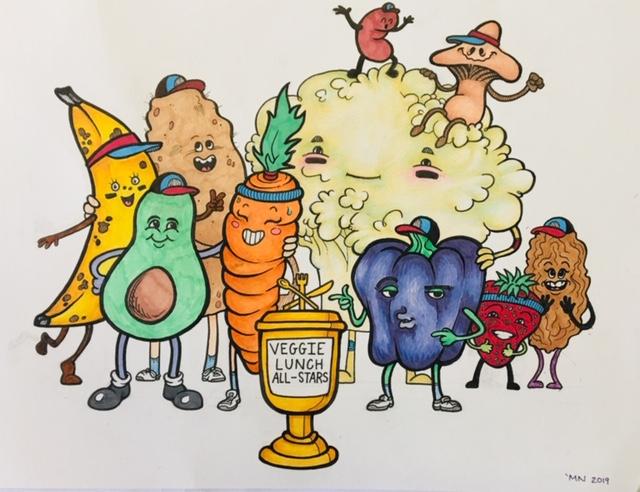 Art created by Melinda Narro, KU '19