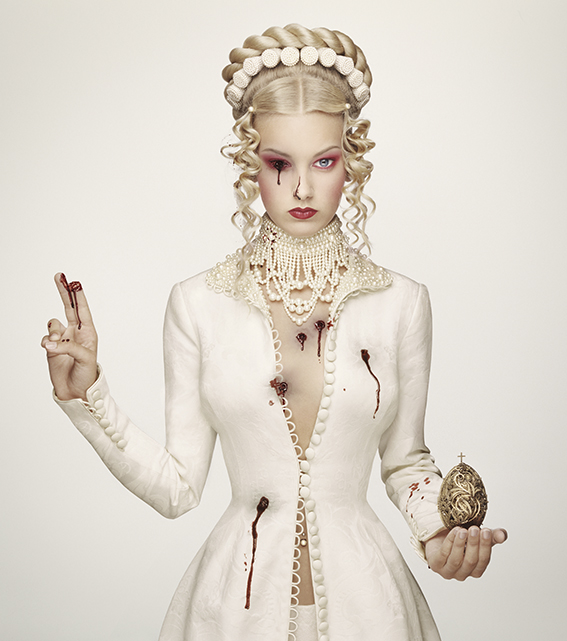 Erwin Olaf's 'Royal Blood' - Empress Alexandra of Russia from the series 'Royal Blood'.