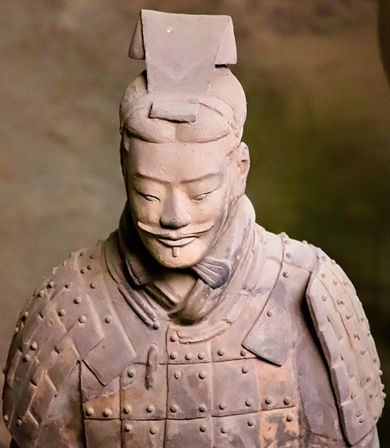 'The statues: sculptures to make you swoon and your knees buckle. The scale of the Terracotta Warriors slapped me giddy.'