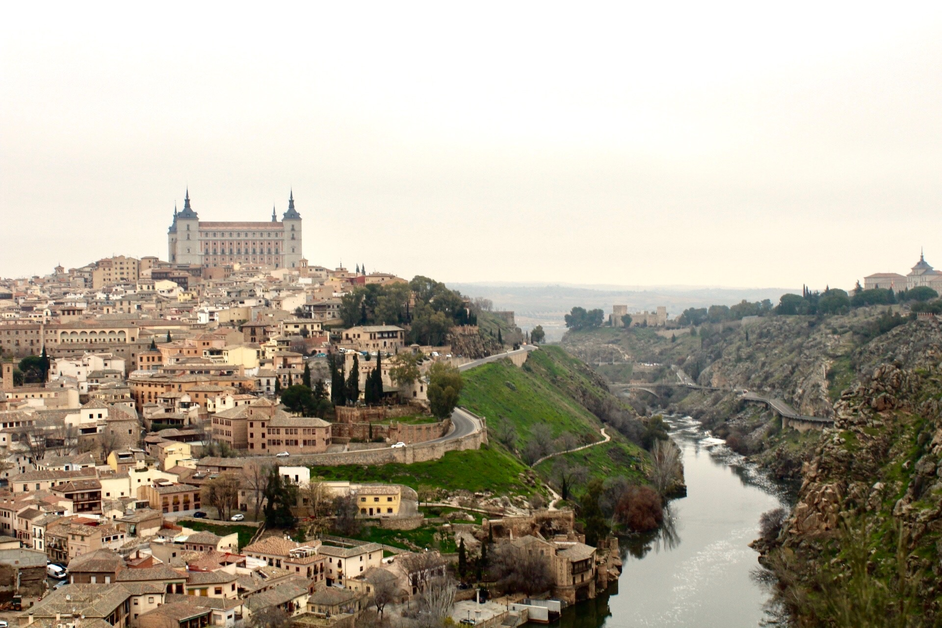 Toledo, Spain - Taken during a winter program