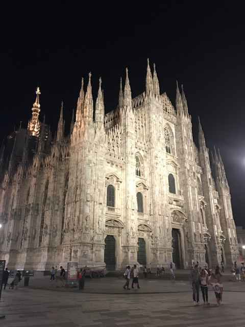 The Duomo, the magnificent centerpiece of Milan.
