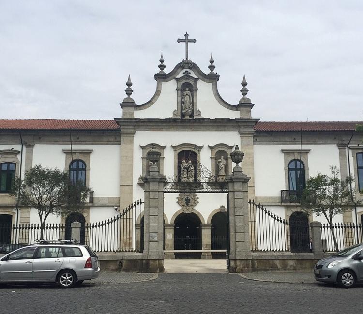 Front facade of Hospital Santa Maria Maior