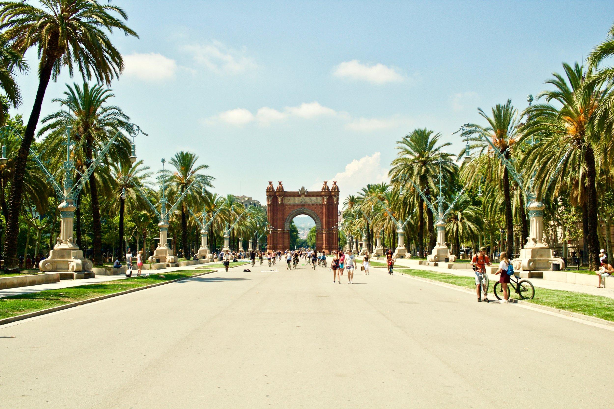 Barcelona, Spain - taken during a summer program