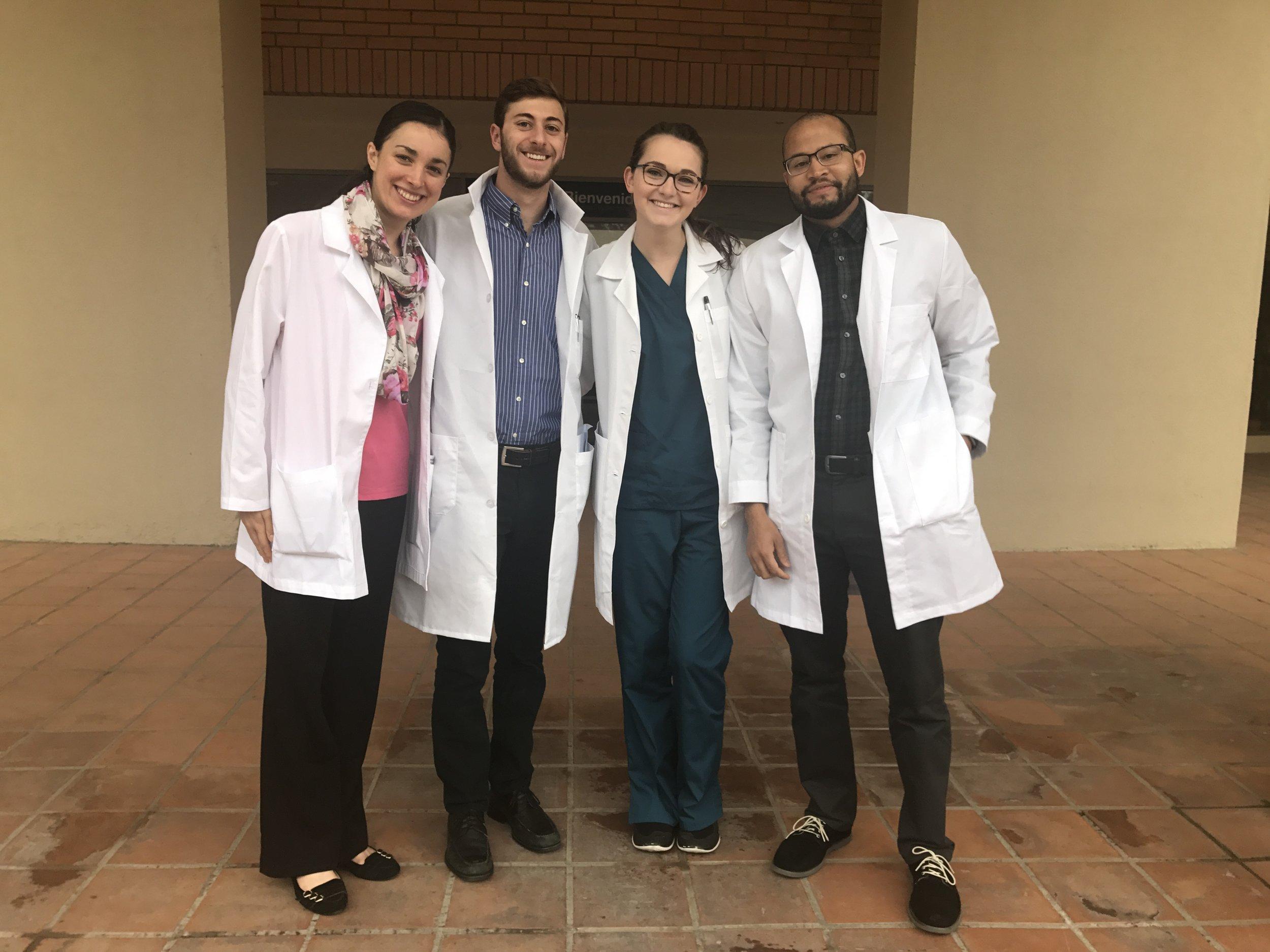 Caroline Doherty with Atlantis Fellowship Group, Cuenca, Ecuador 2017