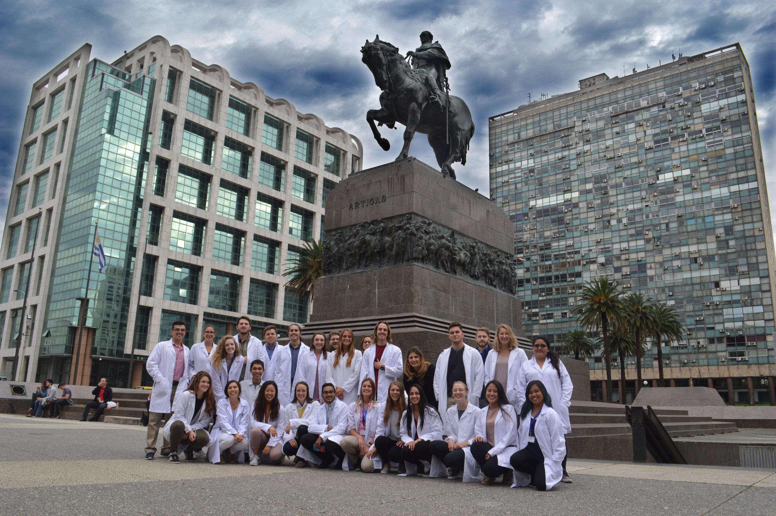 Atlantis Fellows in Montevideo, Uruguay, 2018