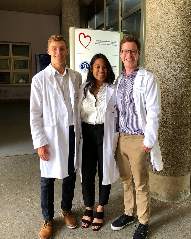 """If you are considering medicine, Atlantis is one of the best experiences you can have to prepare yourself for a field that requires much more than just years of schooling."" - Merissa Maccani - University of Michigan '19"