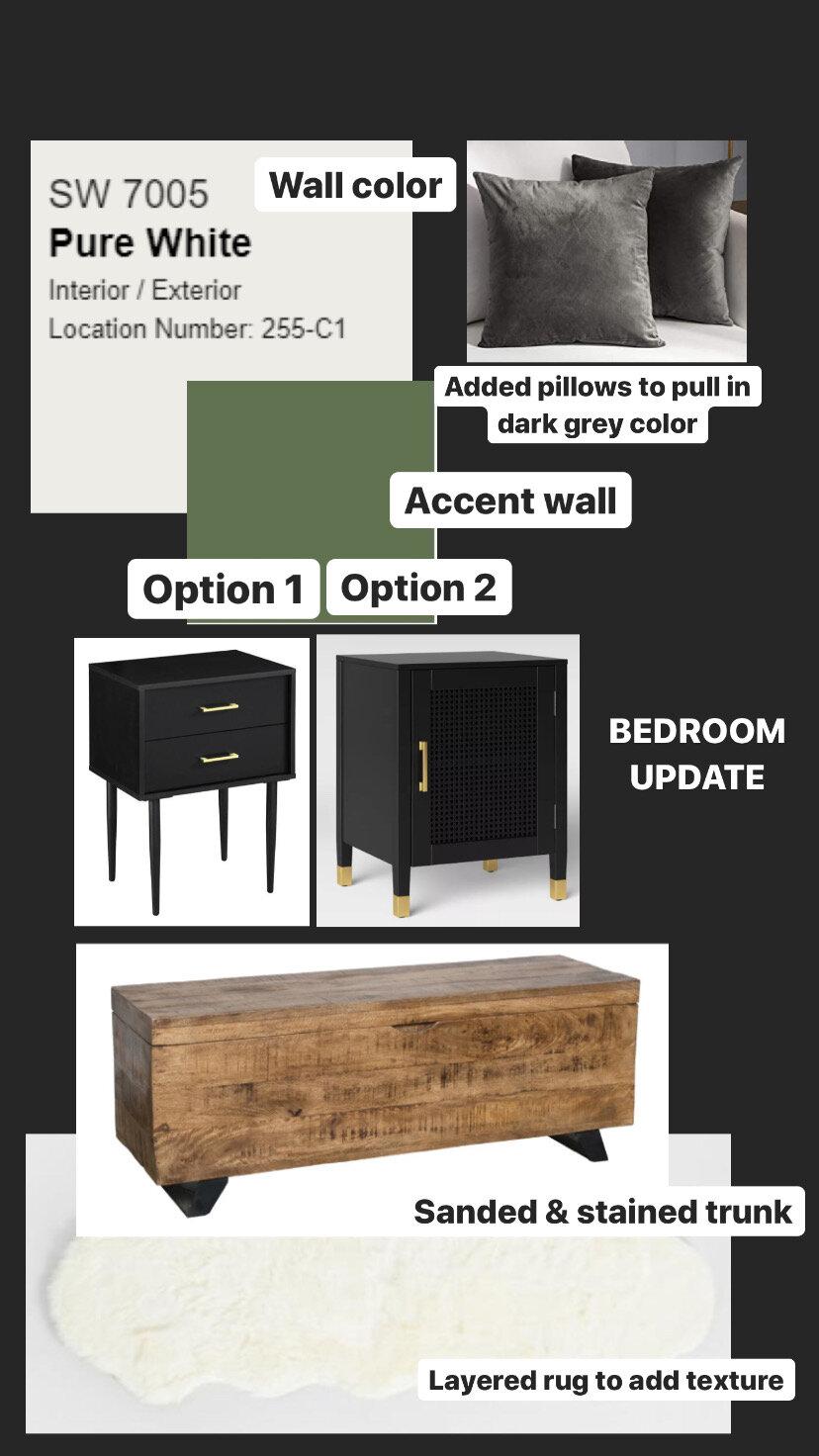 Green Accent Wall Master Bedroom Diy Darling