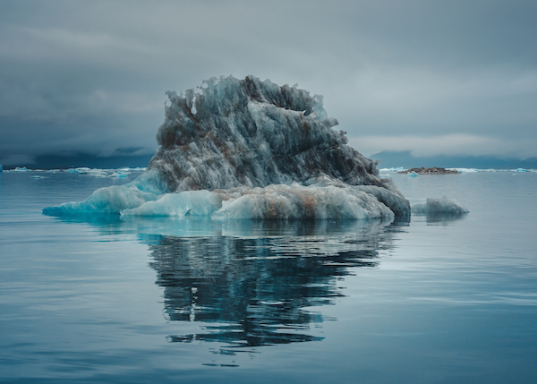 Blue ice meets black ice in Narsaq, South Greenland, by Stacy William Head.jpg