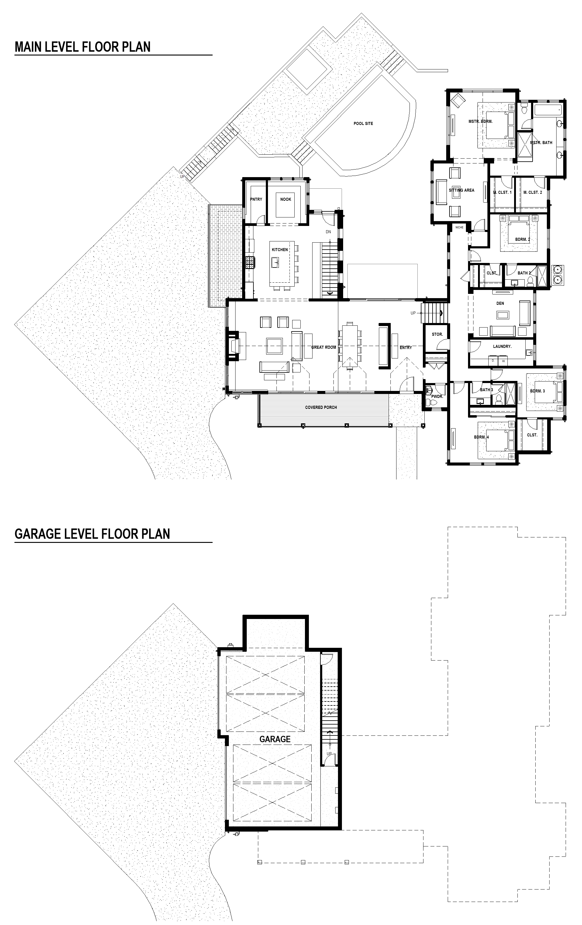 Luxury home floor plan | home site #3